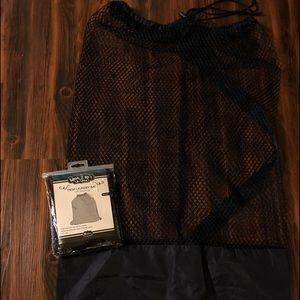 Handbags - Mesh Laundry Bags - 1 Blk & 1 Navy - NEW!